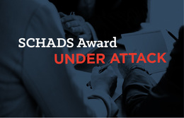 Our Award is under attack