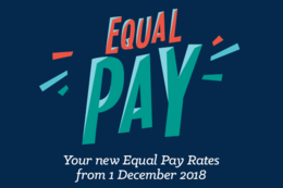 Equal Pay Rates December 2018