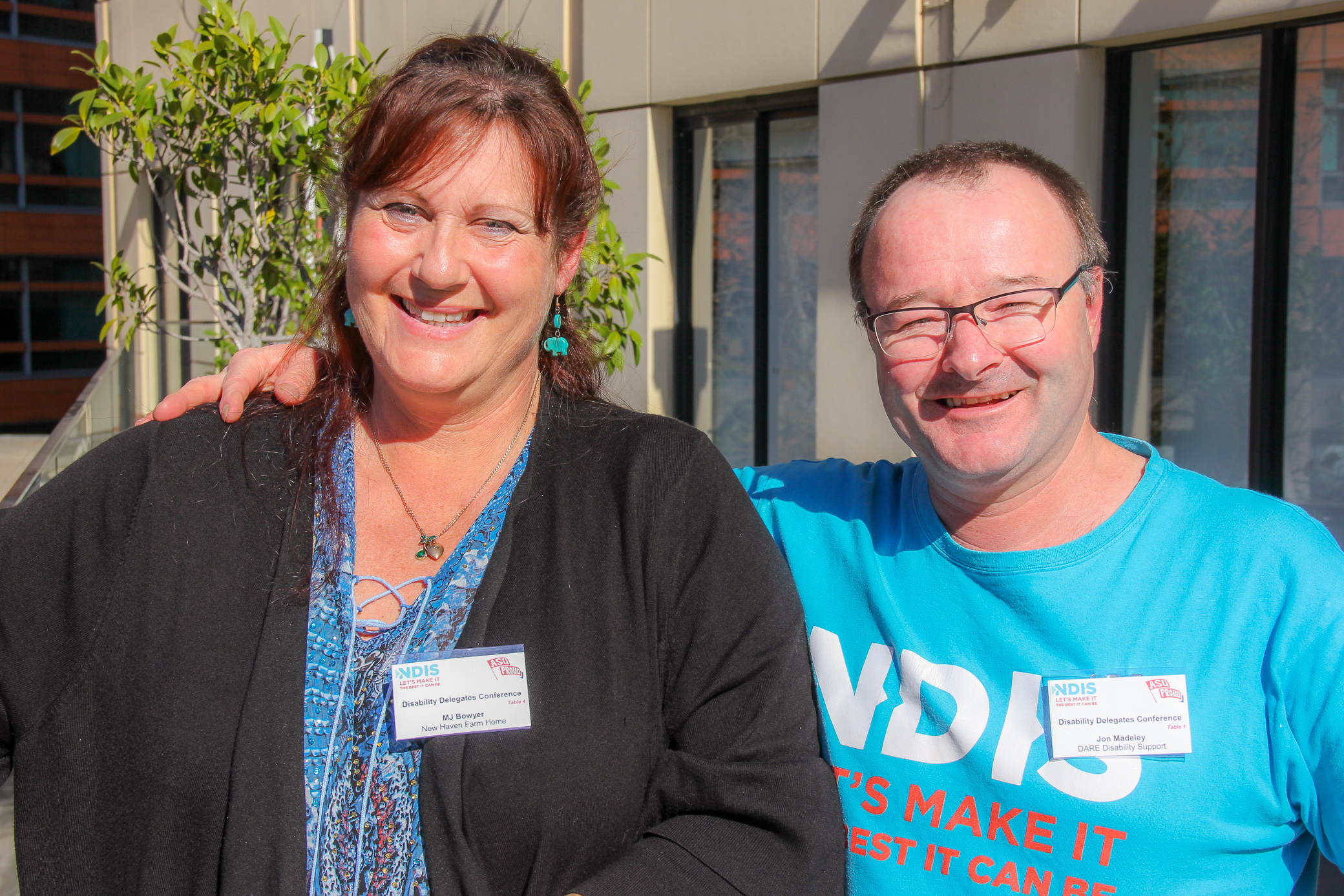 NDIS Workers and ASU Delegates MJ and Jon
