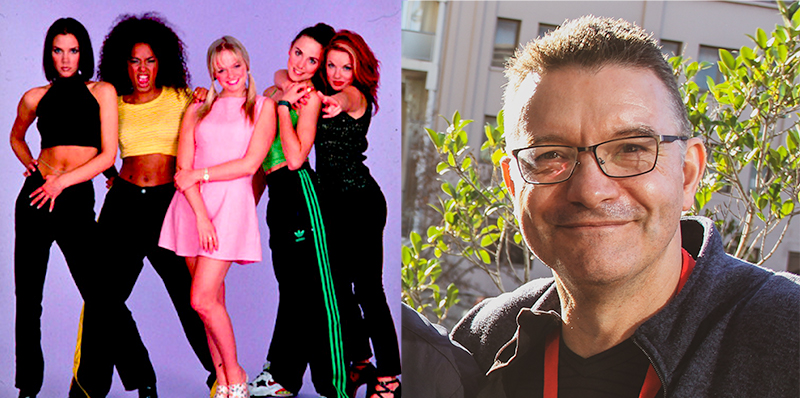 Andrew Sheehan met the Spice Girls