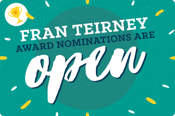 Fran Teirney Award - Nominations