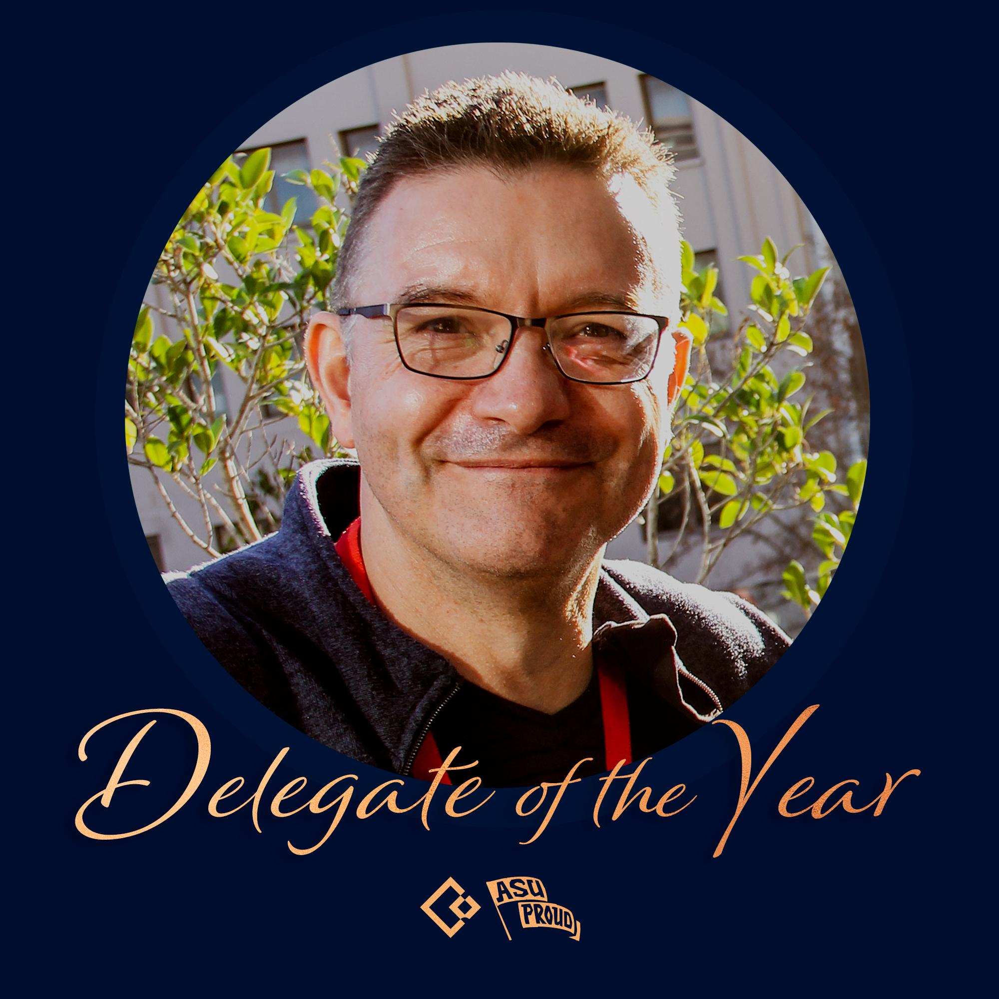 Andrew Sheehan wins Delegate of the Year 2019