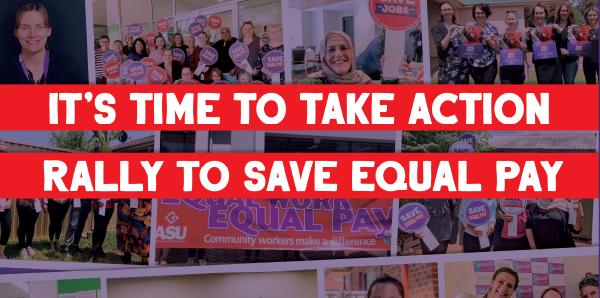 Save Equal Pay Rallies