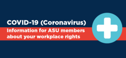 Covid-19 Factsheet for ASU members