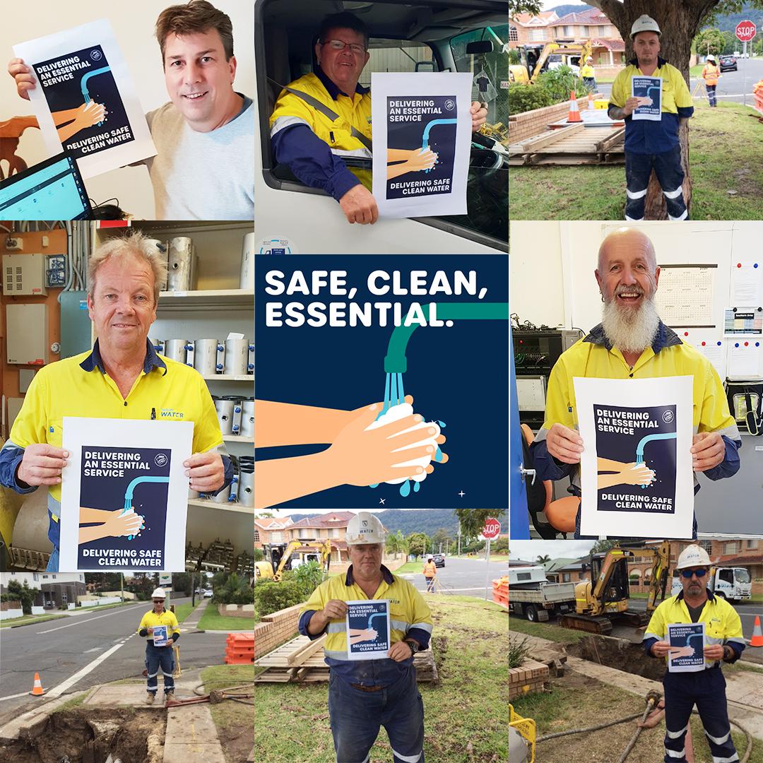 civil maintenance workers