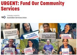 URGENT: Fund Our Community Services