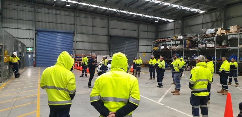 Sydney Water Workers