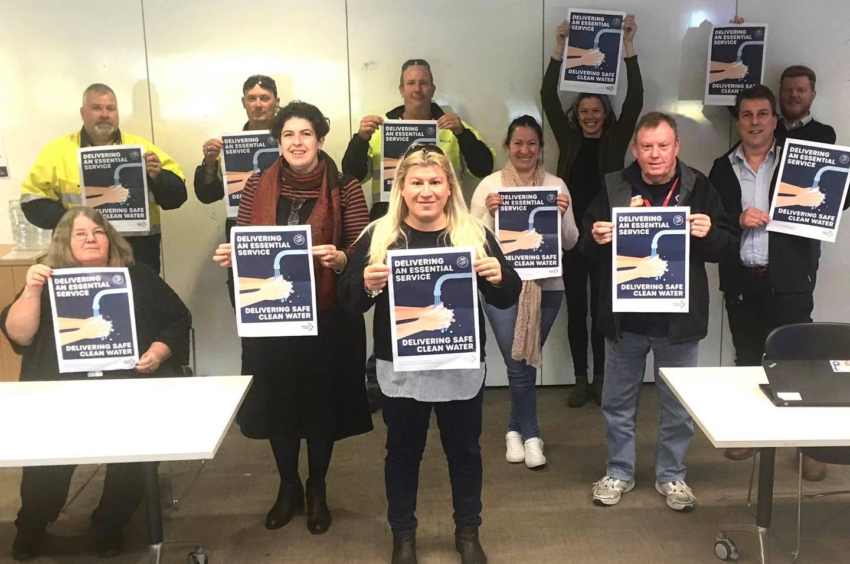 Sydney Water Union Delegates