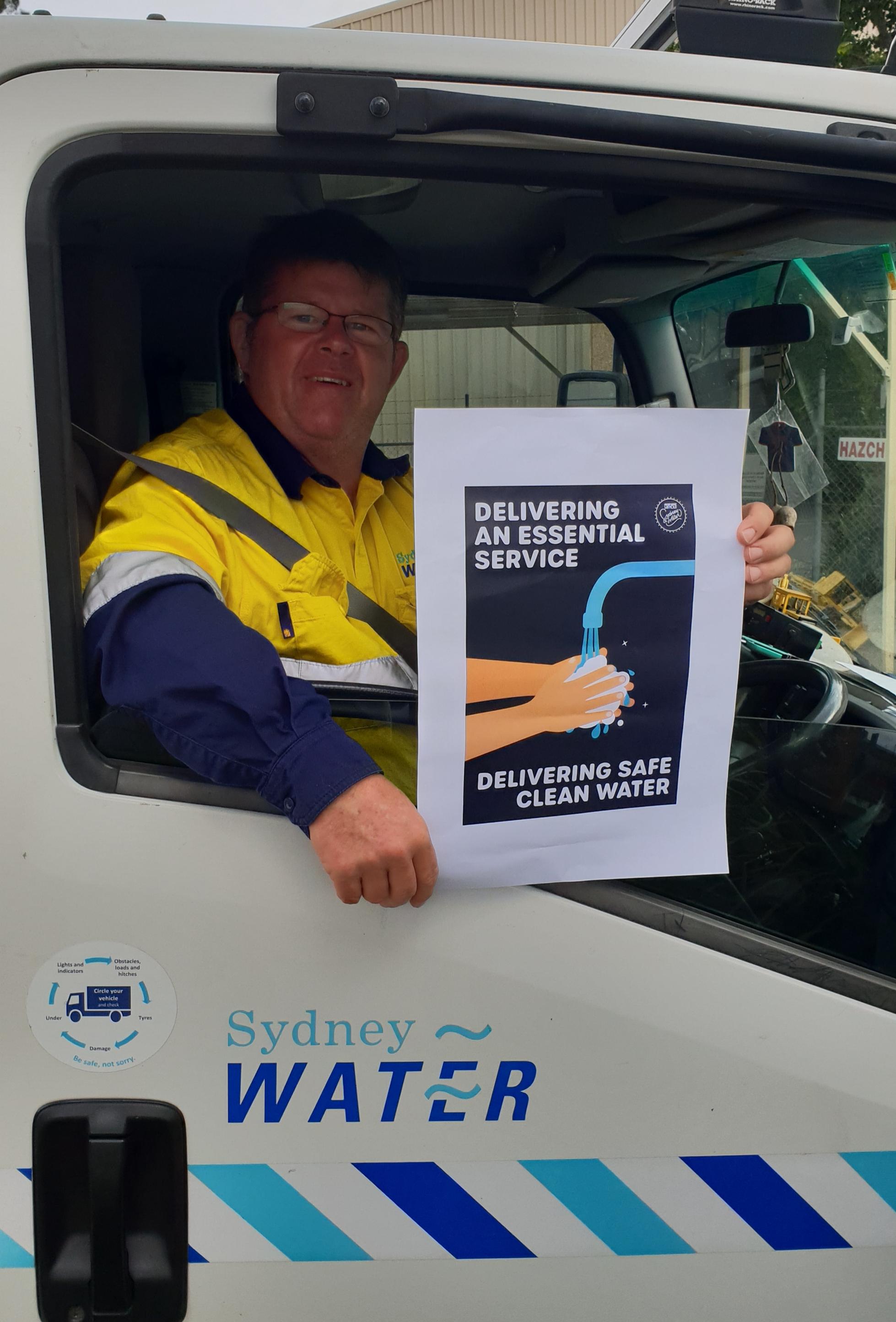 Sydney Water Worker
