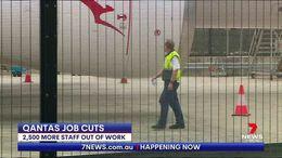 8500 Qantas Jobs Cut
