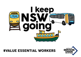 Transport Workers Keep NSW Going