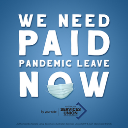 Paid Pandemic Leave Win