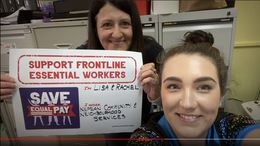 Western Sydney Workers Say Save Equal Pay