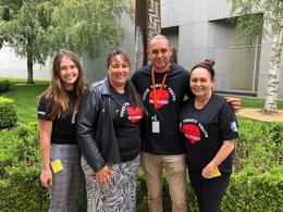Uluru Statement: ASU members visit Parliament House