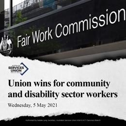 Union Wins Award Improvements