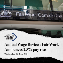 Breaking: Annual Wage Review