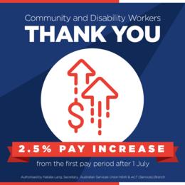 Your Union-won Pay Rise
