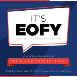 Tax Time Member Benefits