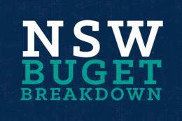 NSW Budget Breakdown