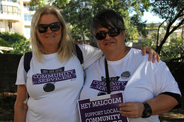 Community services not for sale!