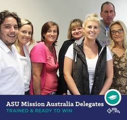 Spotlight on enterprise bargaining: Mission Australia members organise to win