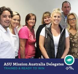 Spotlight on enterprise bargaining: Mission Australia members organise to win