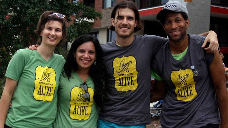 Photo: Volunteers @ Atlanta Streets Alive