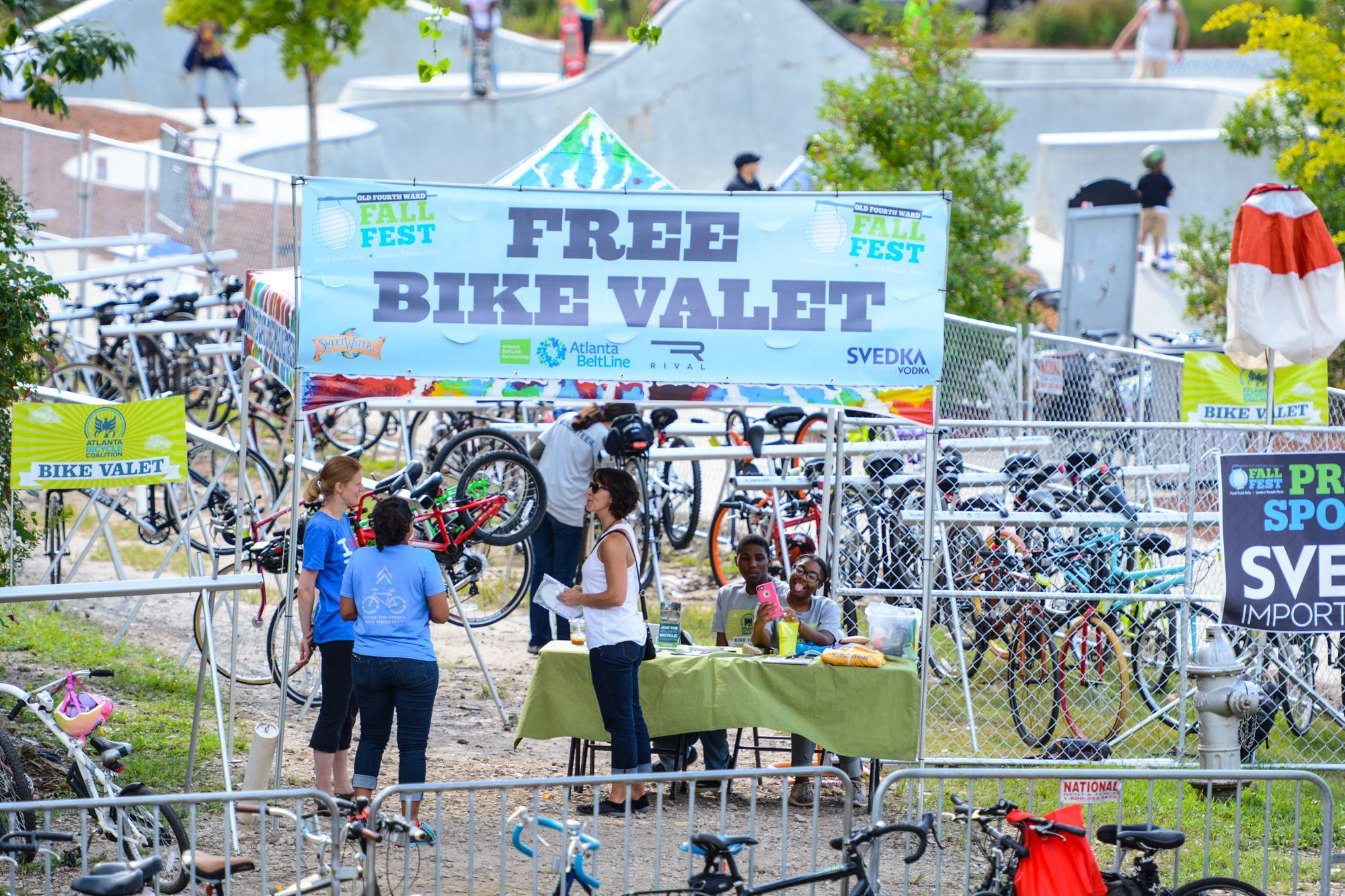 Photo: ABC Bike Valet @ O4W Fall Fest 2015