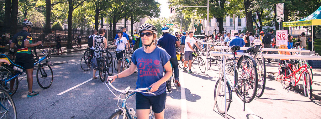 Bike Valet at Rolling Town Hall