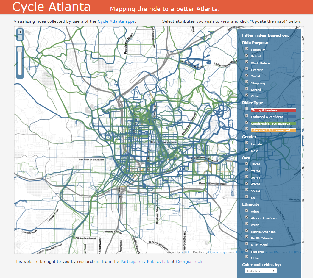Map Of Southeast Georgia.Maps Routes Atlanta Bicycle Coalition