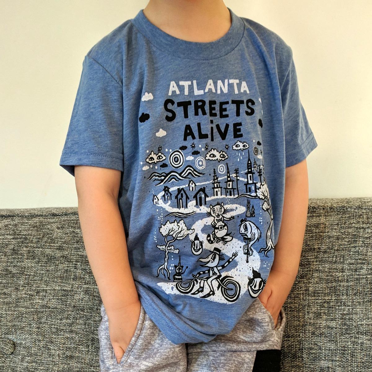Kids T-Shirt: 2018 Atlanta Streets Alive x BlackCatTips