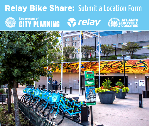 Relay Bike Share: Submit a Location Form