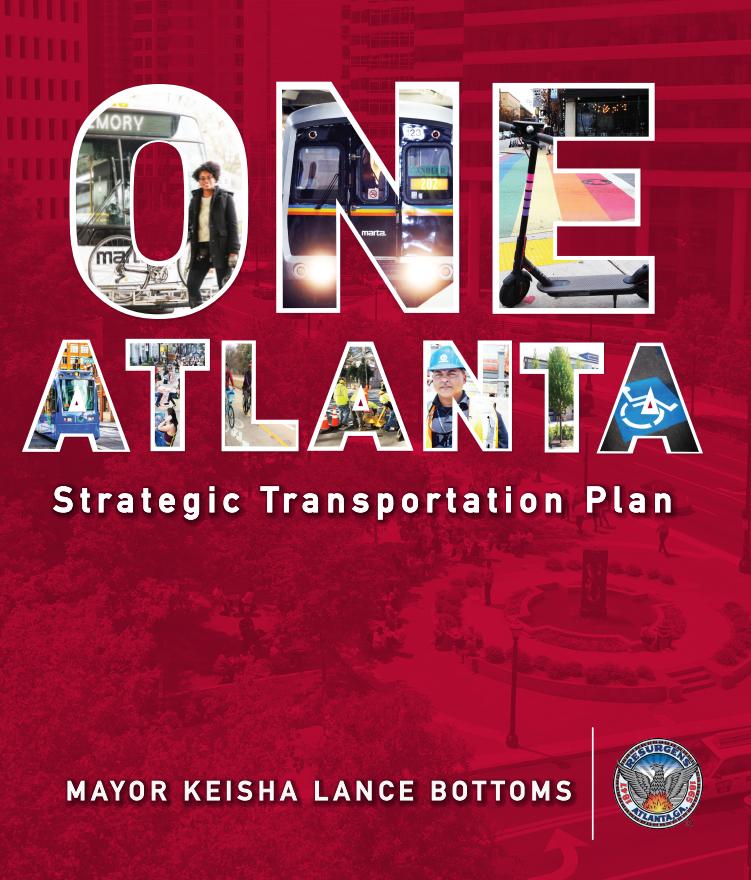 ONE Atlanta Strategic Transportation Plan Book Cover