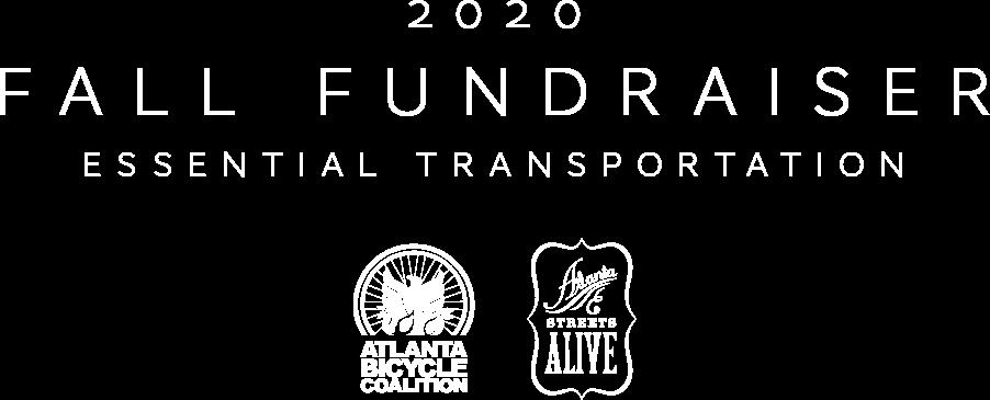 2020 Fall Fundraiser - Essential Transportation