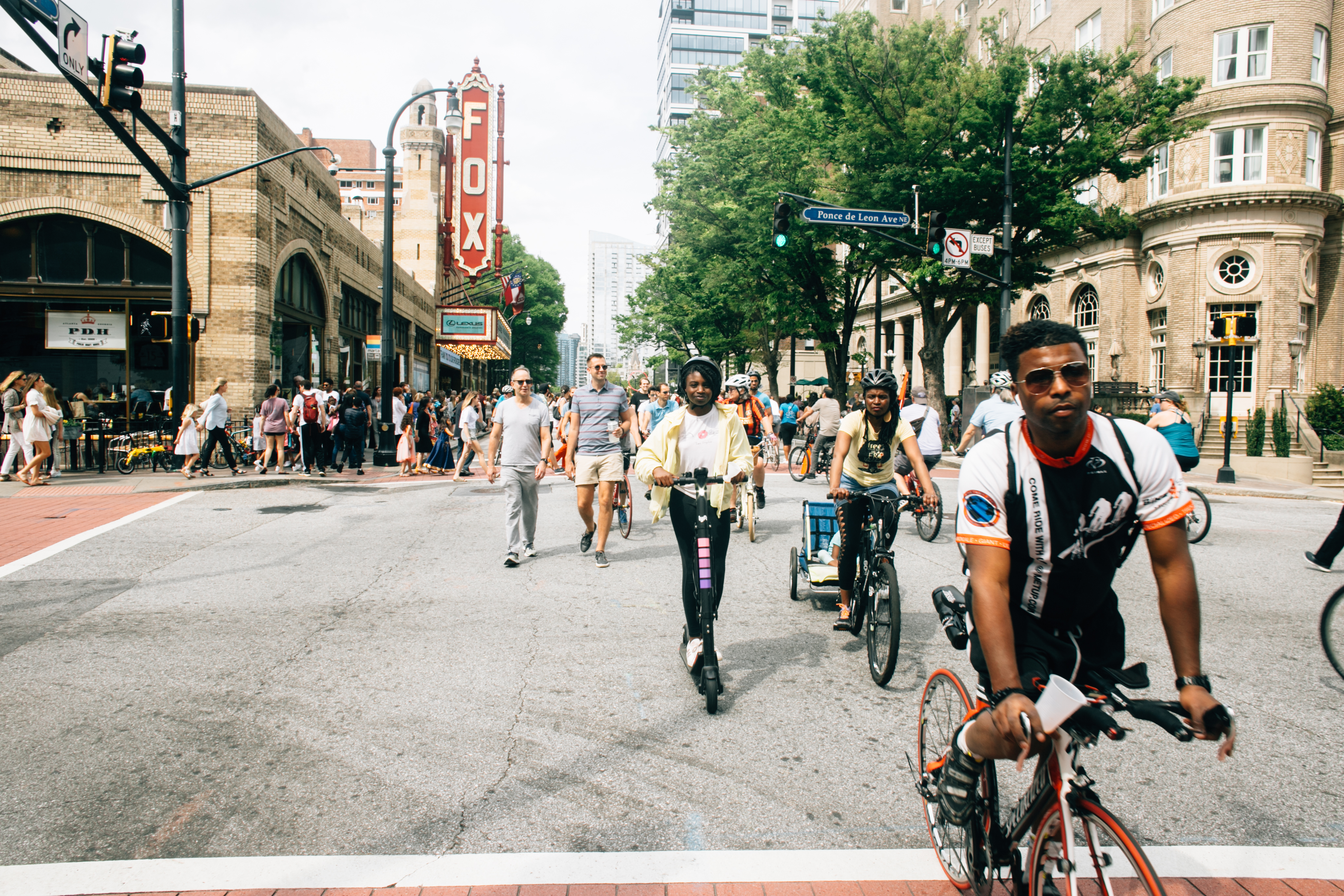Atlanta Streets Alive   Peachtree Street