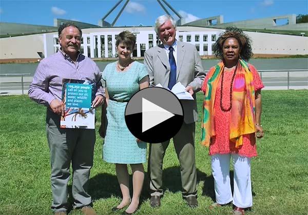 EPBC_petition_handover_Canberra