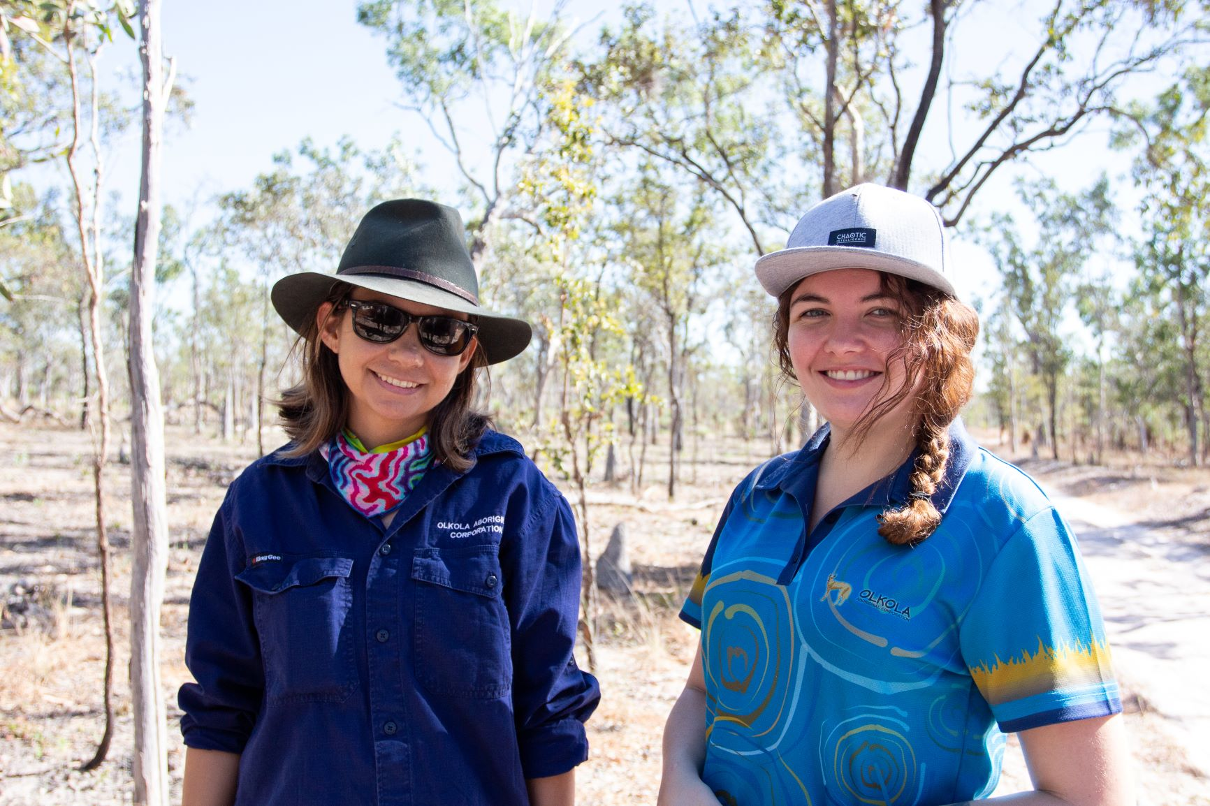 Young Women Land Managers on Olkola country