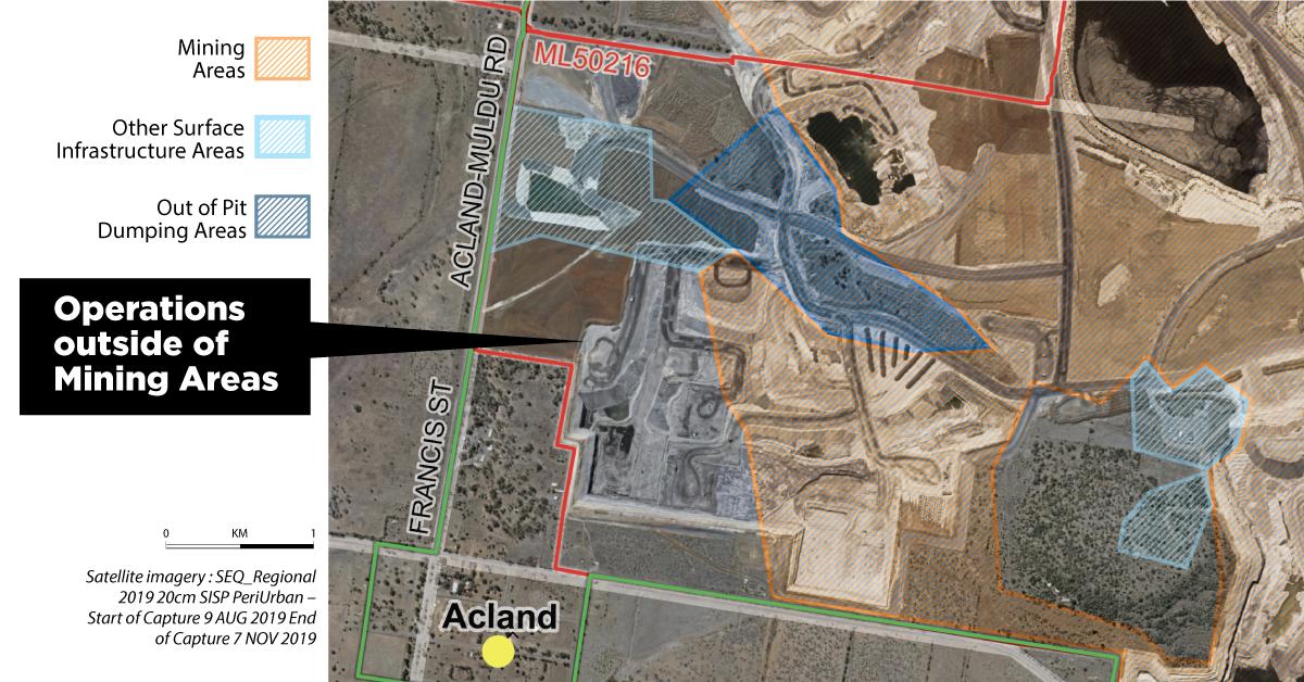 Acland coal mine