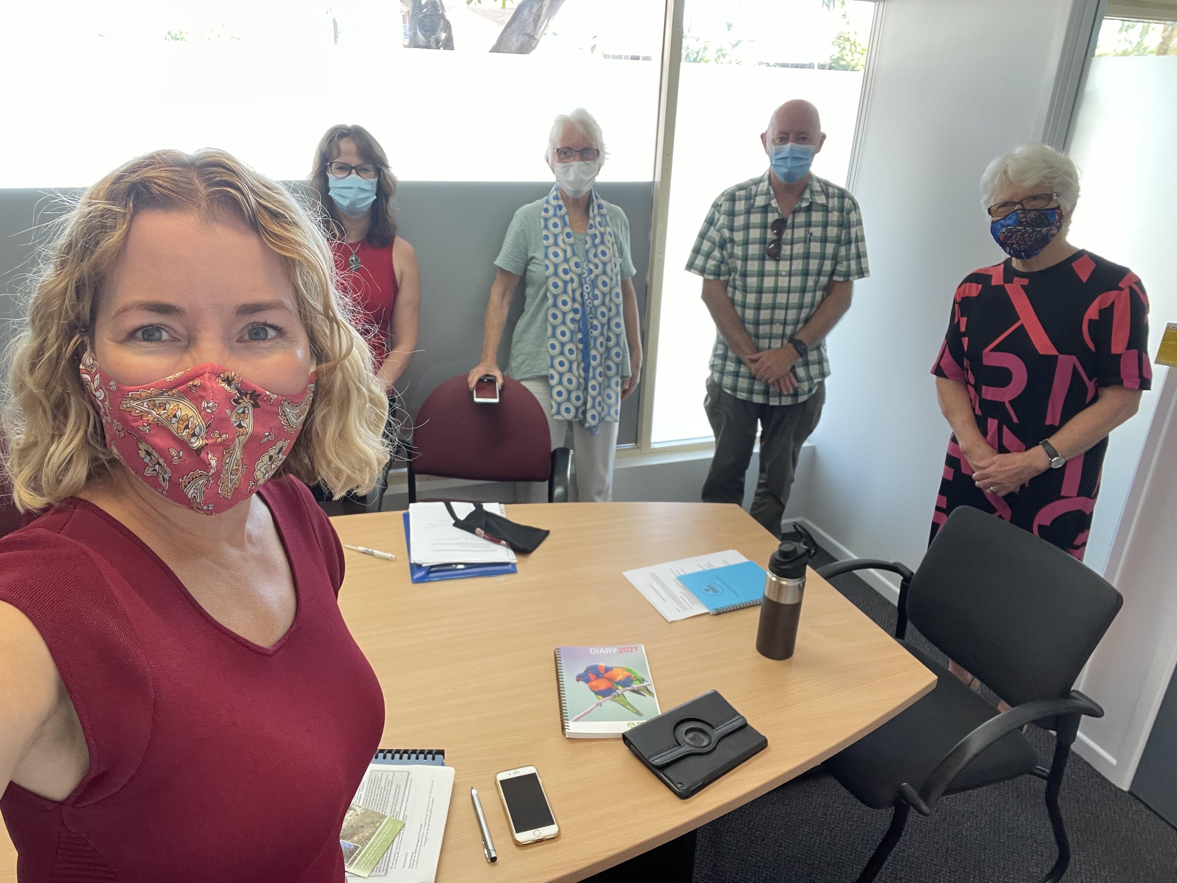 ACF Brisbane Northside preparing to meet Tim Mander MP