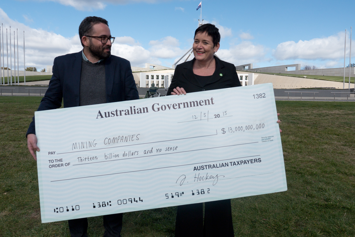 2021-22 federal budget for Renew Australia NOT for fossil fuel mining