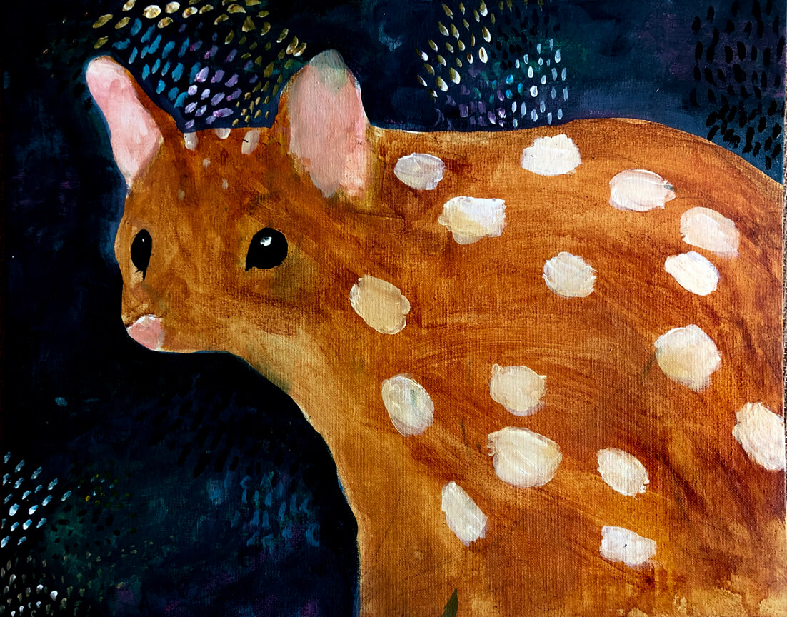 Spotted Quoll by Olive, age 10