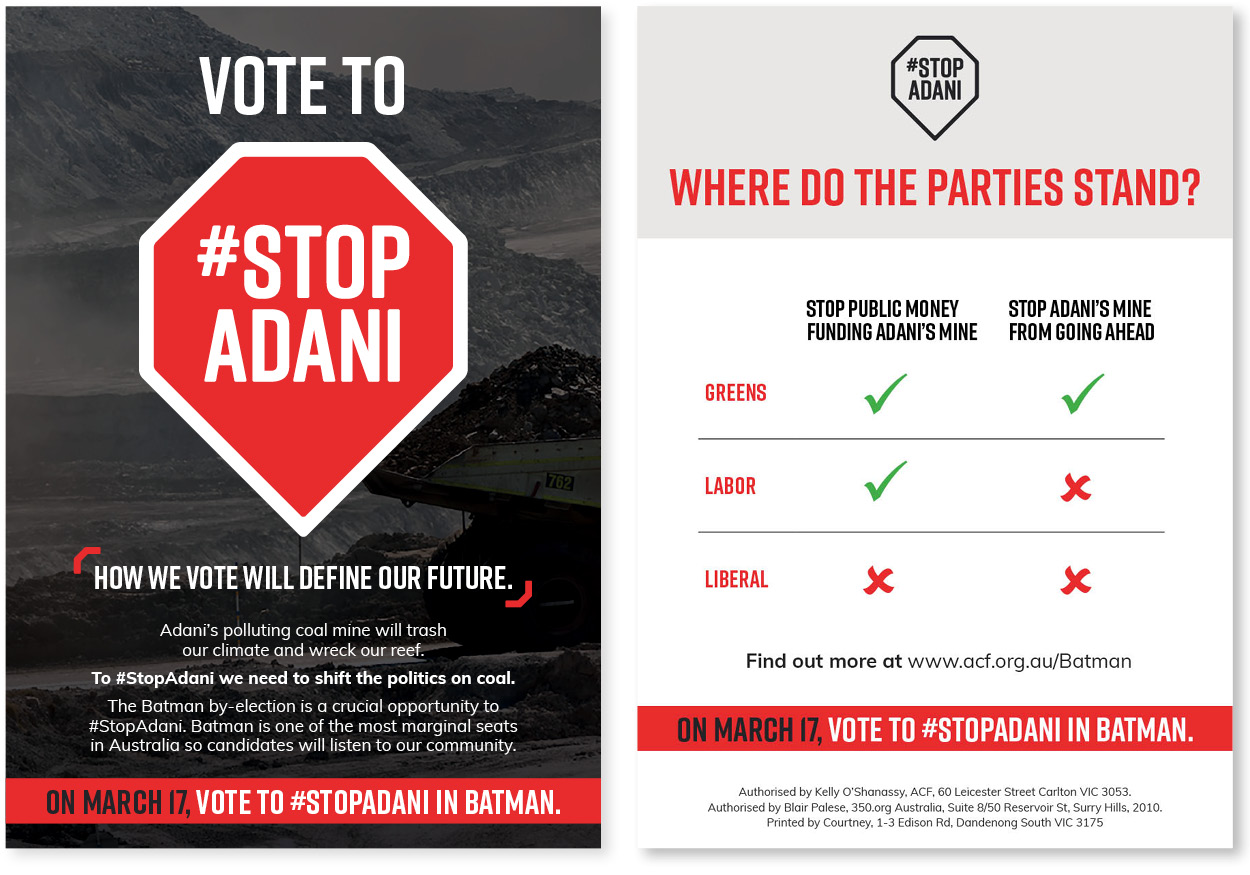 #StopAdani scorecard for Batman