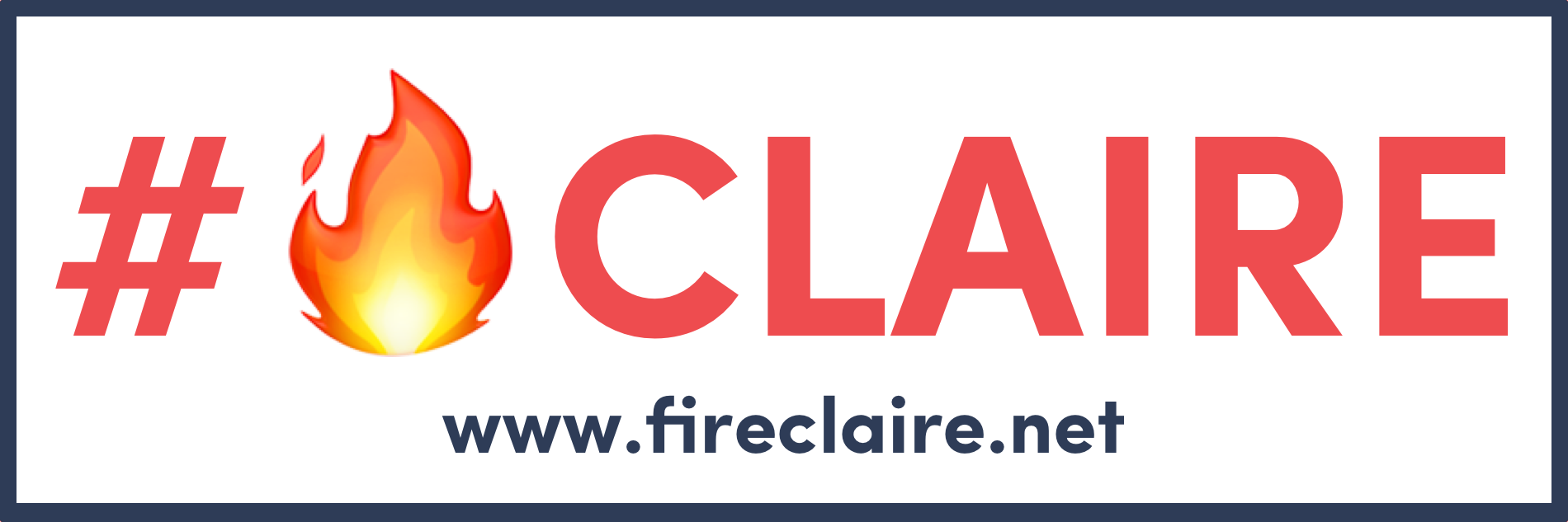 Official #🔥Claire Bumper Stickers - $5