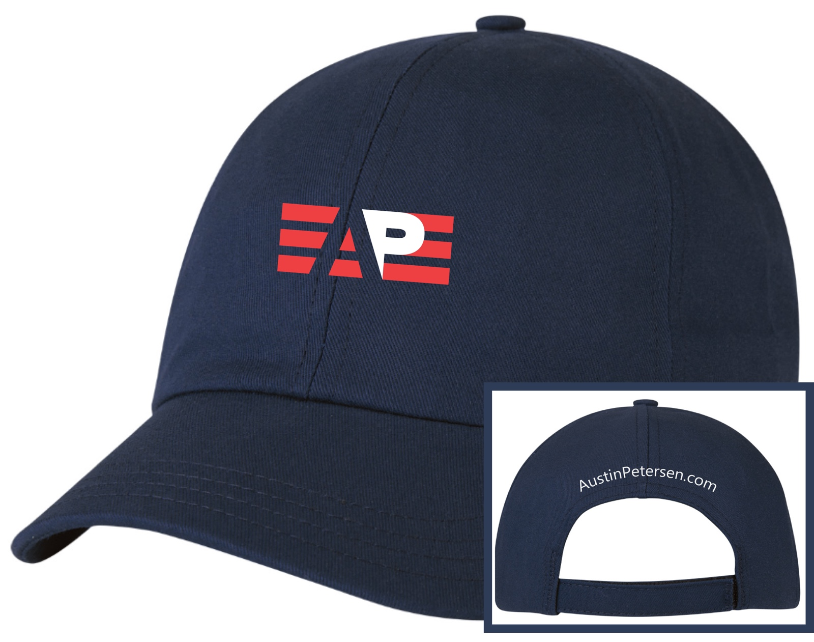 Official Campaign Hat (Navy) - $30