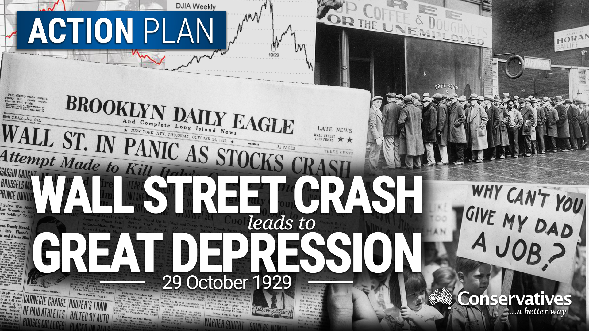 1929 Wall Street Crash Triggers The Great Depression - The-great-depression-1929