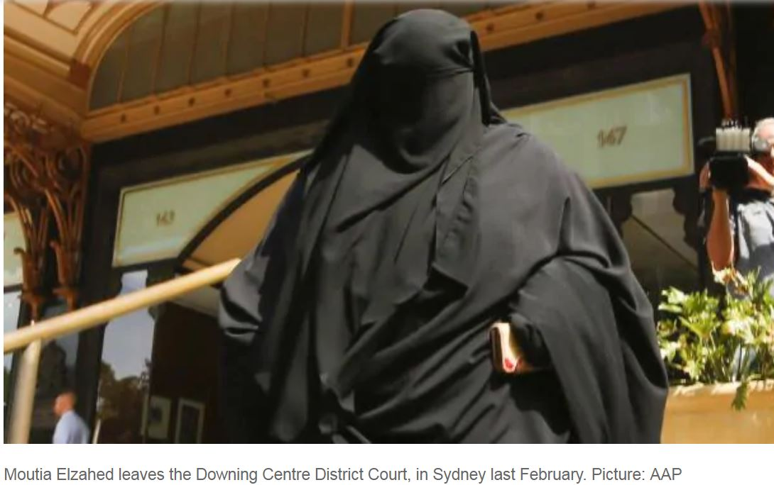 Non-standing niqab wearer appeals