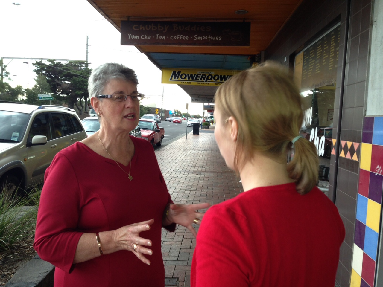 Maureen has been volunteering for the Isaacs Campaign
