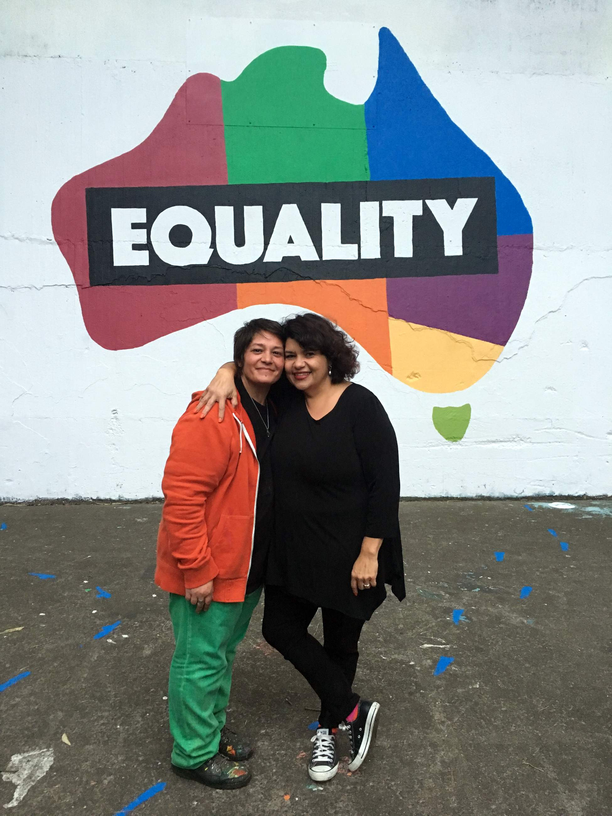 De and Kirstie are proud to be part of The Equality Campaign.