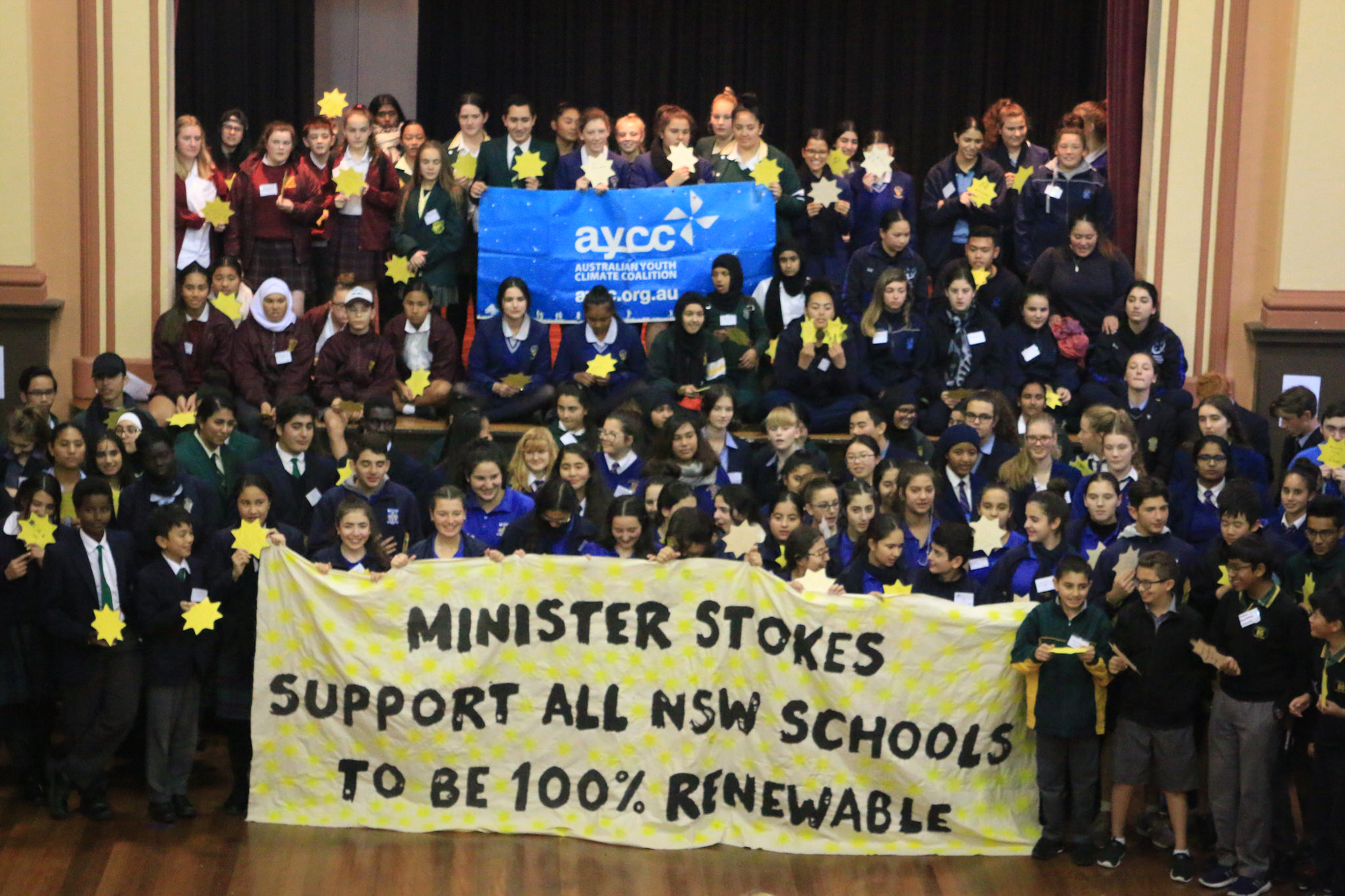 High school leaders in Western Sydney call for renewable energy transition