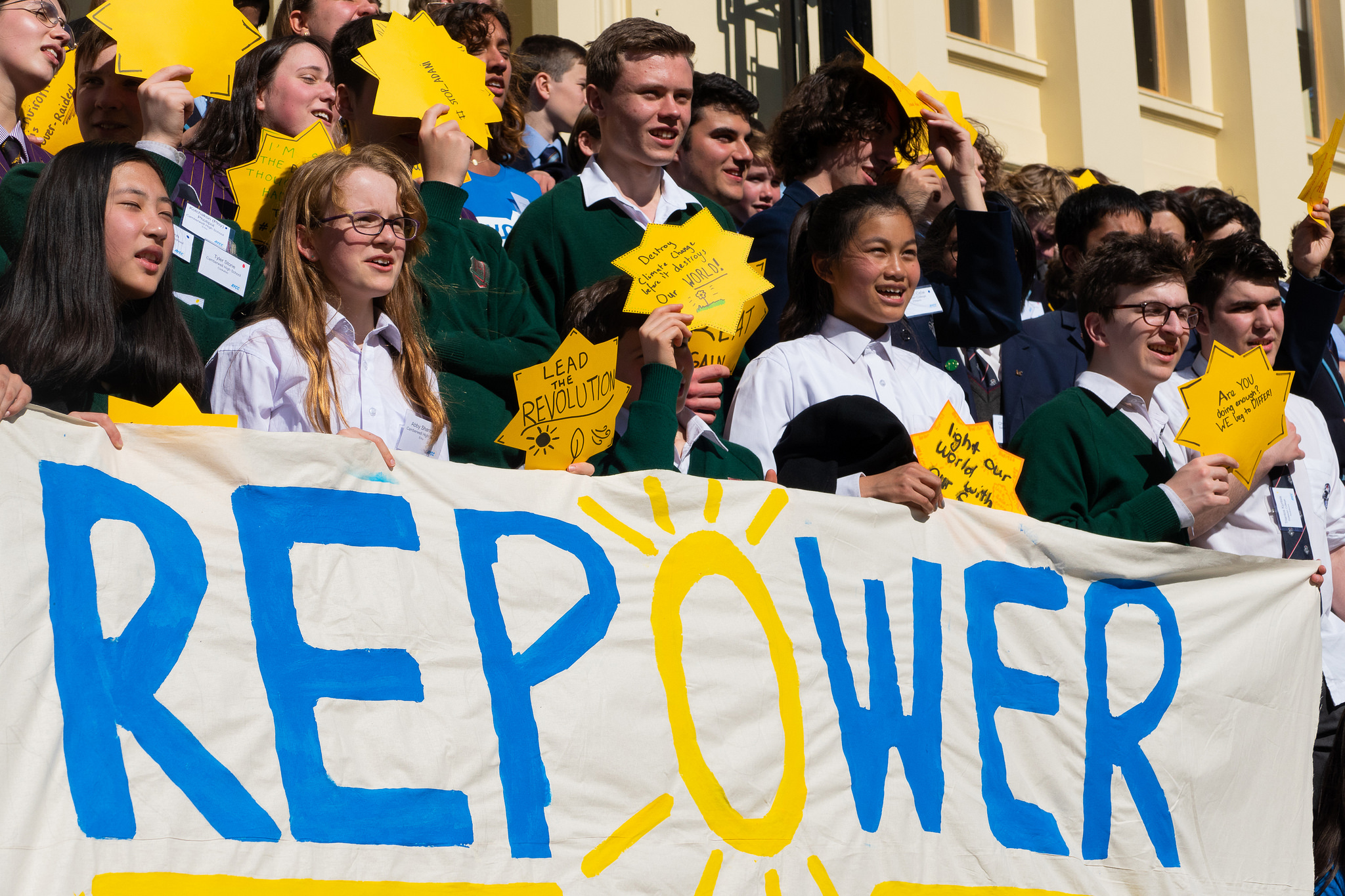 NSW School Students & Climate Advocates Welcome Labor's Commitment to Solar Schools